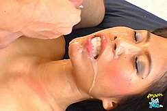 Cum On Her Face
