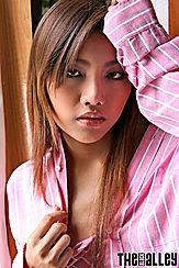 Kathy Ramos Wearing Pink Shirt