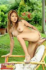 Cherry Chen Firm Thai Tits Heels Lounger
