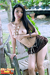 Playing With Necklace Pert Breasts