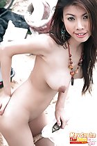 May Supha nude with hand on her ass