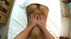 Hands On Her Lower Back Bare Ass